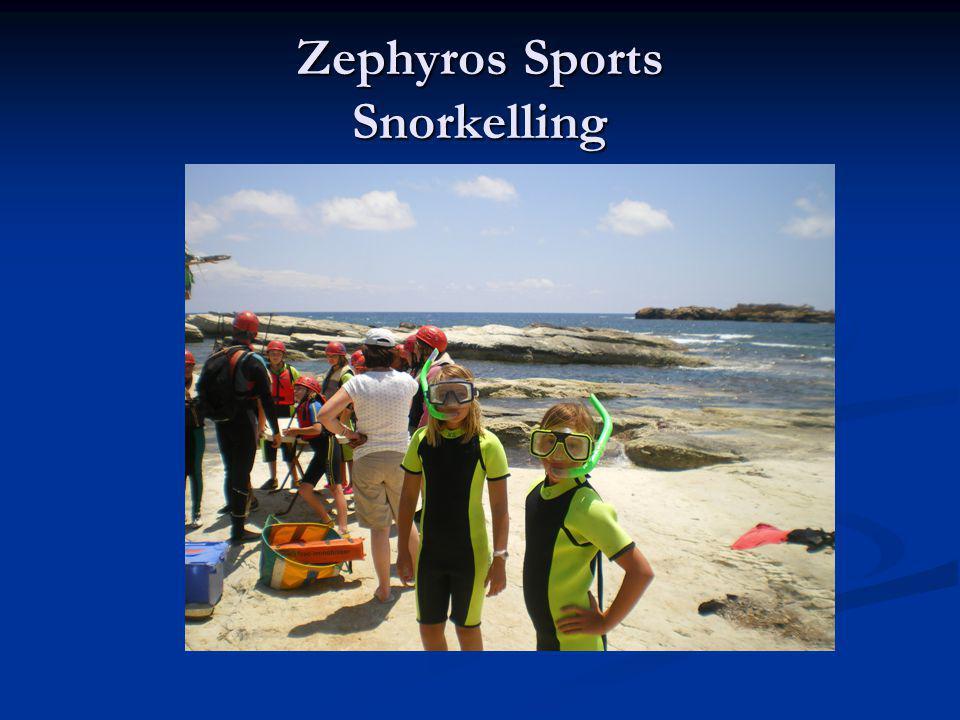 Zephyros Sports Snorkelling