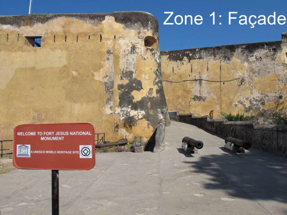 Zone 1: Façade
