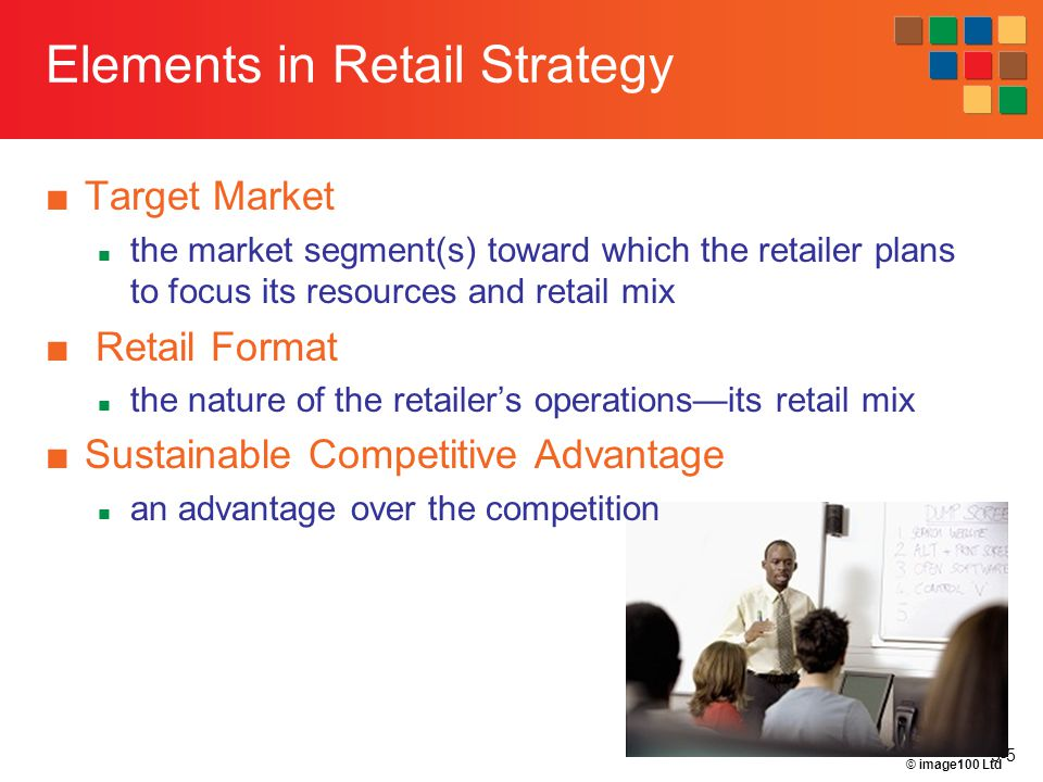 5-36 Diversification Introduces a new retail format toward a market segment that is not currently served by the retailer Related diversification Unrelated diversification Vertical integration into wholesaling or manufacturing