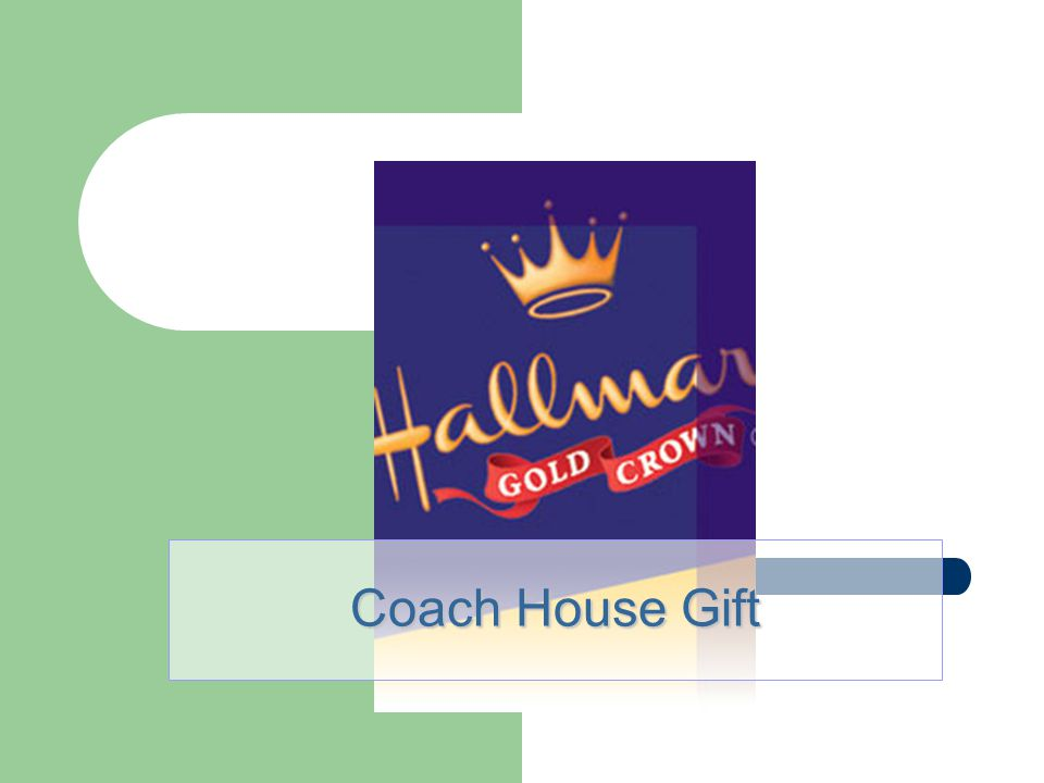 Coach House Gift