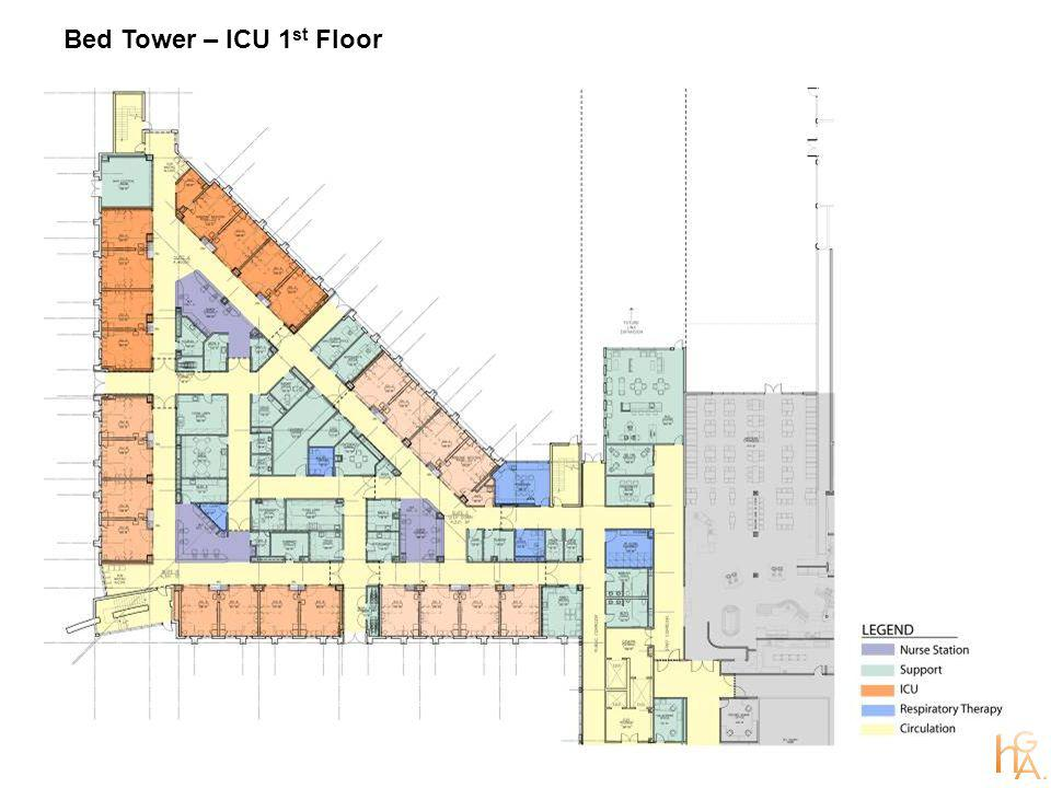 Bed Tower – ICU 1 st Floor