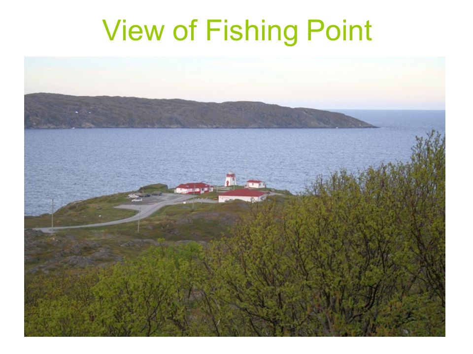 View of Fishing Point