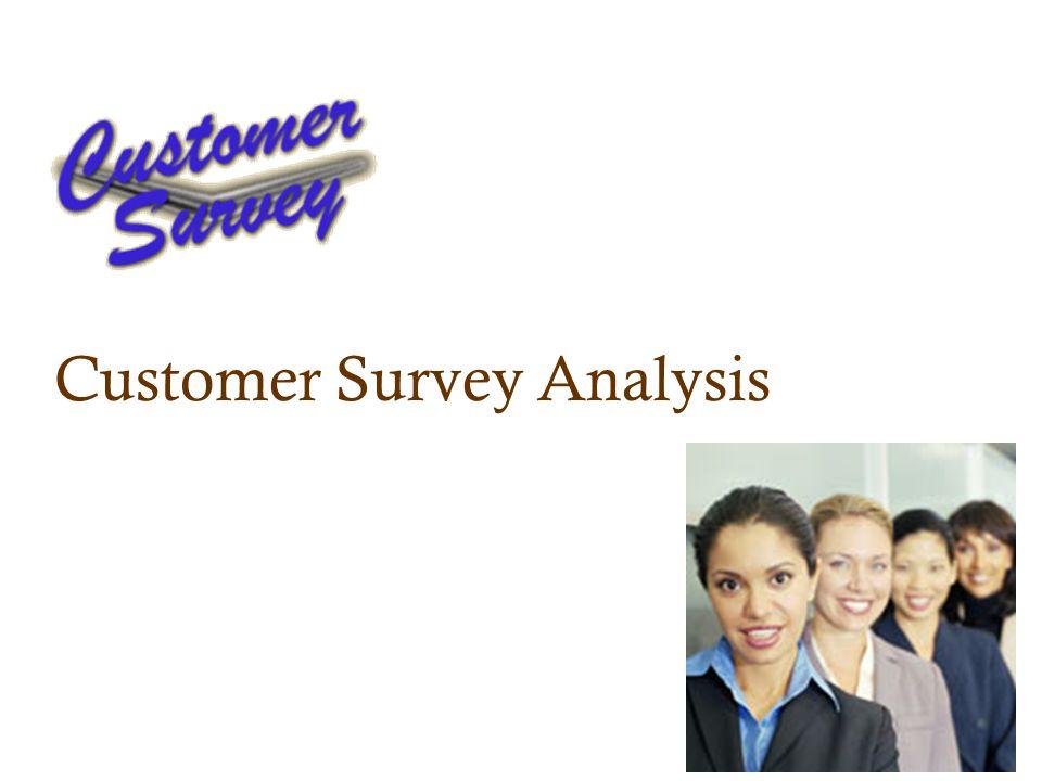 Customer Survey Analysis
