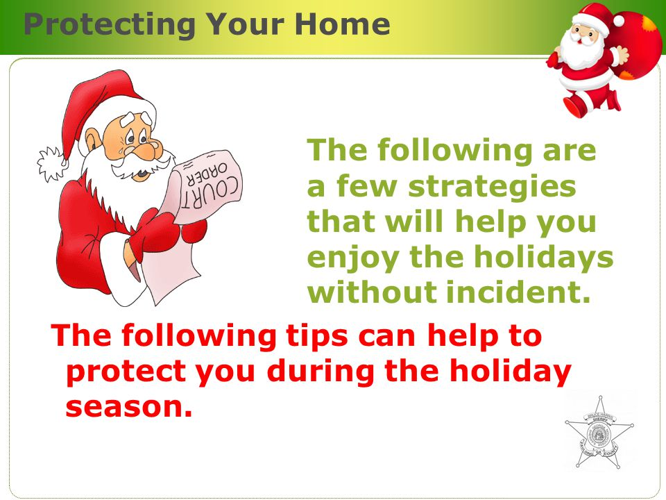 Shopping Prevention Tips Christmas is a time of year during which many of us will be busy shopping and running errands in order to be ready for the Holiday Celebration.