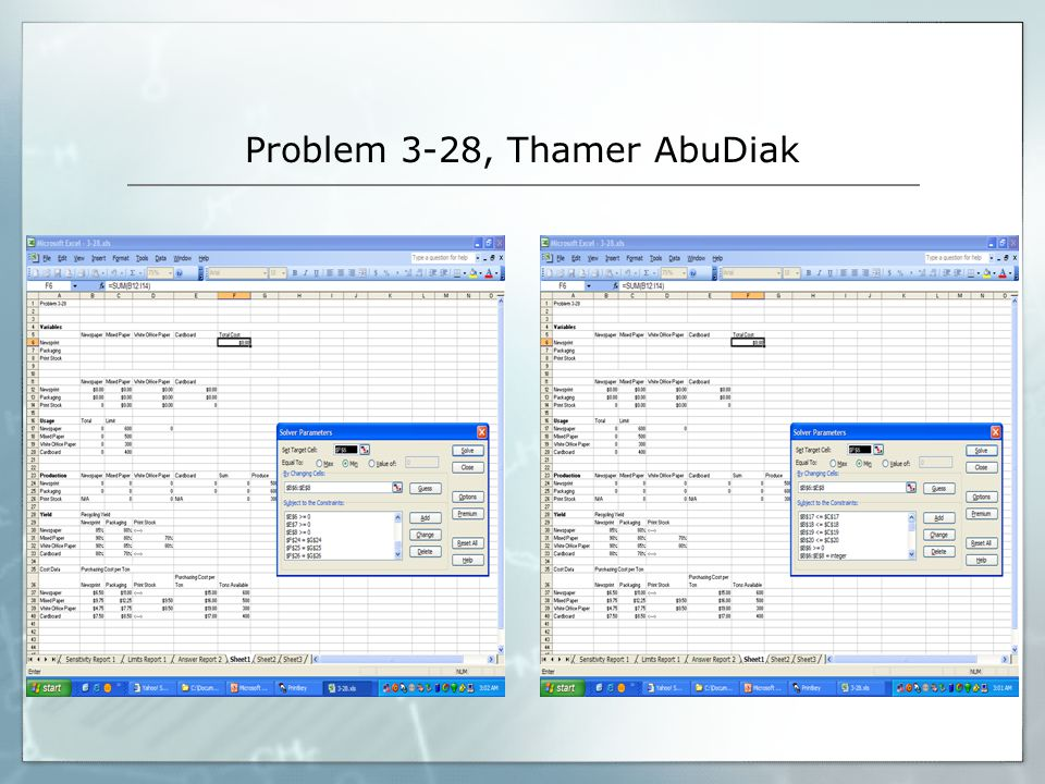 Problem 3-28, Thamer AbuDiak
