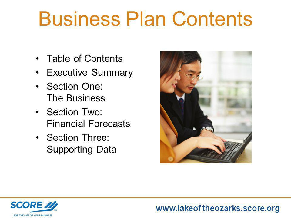 www.score.org www.lakeof theozarks.score.org Encourages an objective view Becomes foundation for planning Powerful management tool Communicates owners