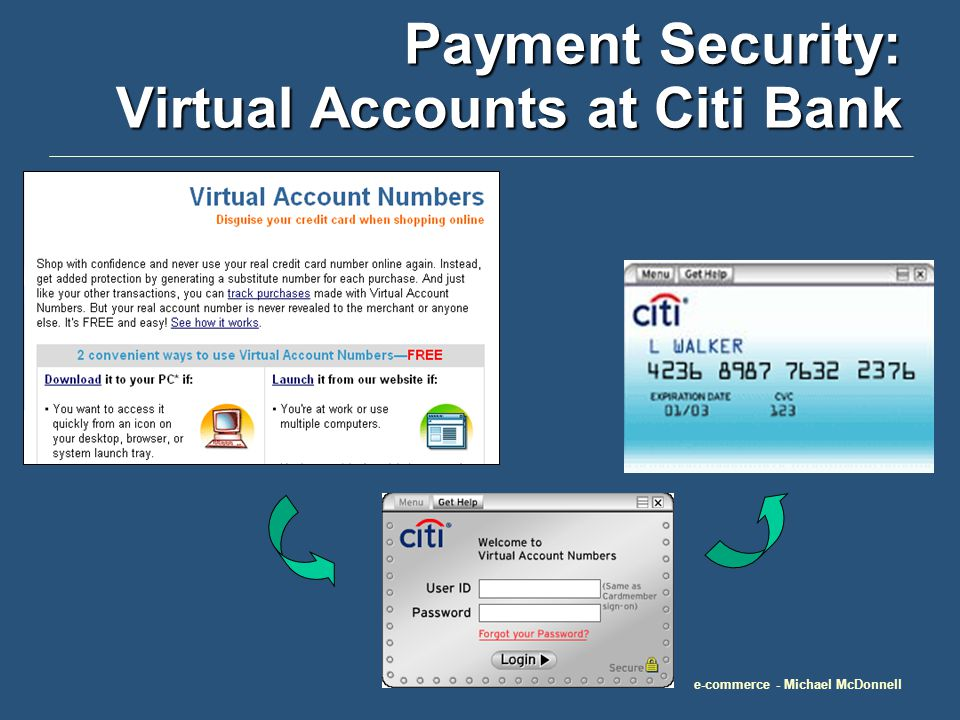 e-commerce - Michael McDonnell Payment Secutiy: Visa Chip Cards A typical plastic card with an embedded computer chip and microcomputer.
