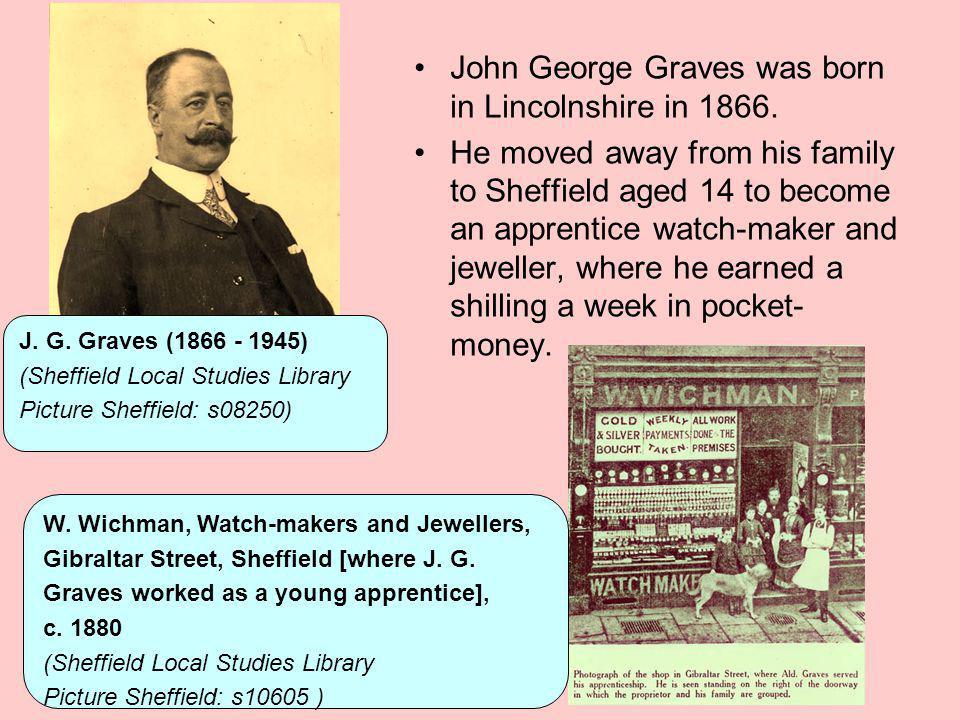 Sheffield Telegraph news article on J.G.