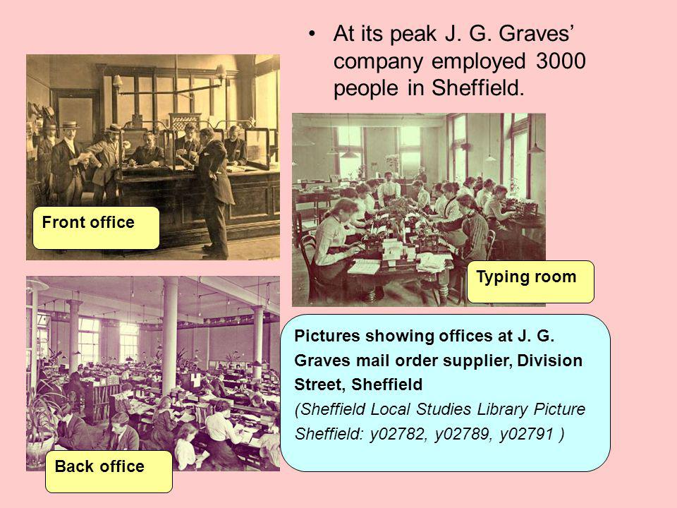 As well as running a successful business, J.G. Graves played a big role in public life.