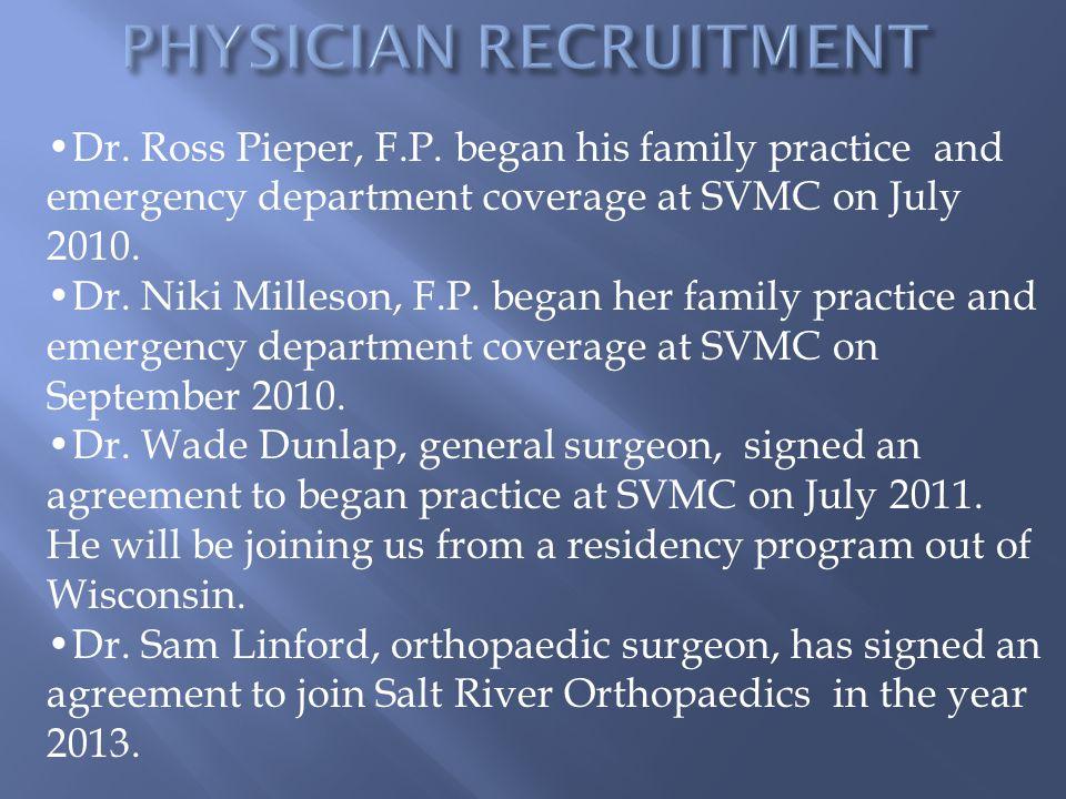 Dr.Ross Pieper, F.P.