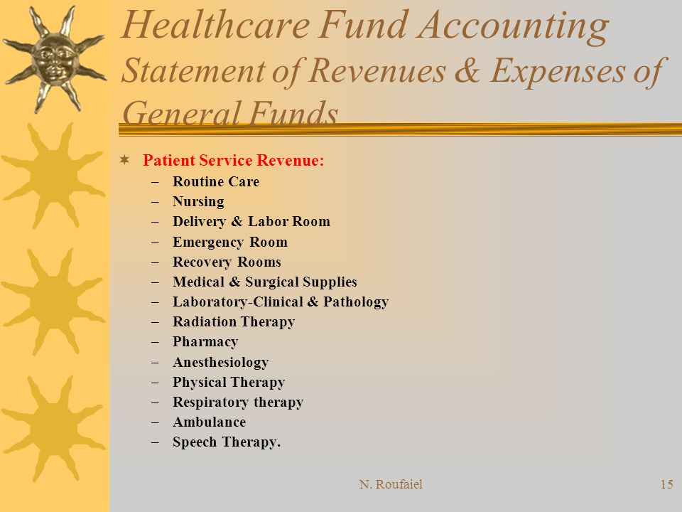 N. Roufaiel14 Healthcare Fund Accounting Funds Definition 2.
