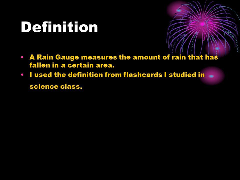 Citations for Videos World's Coolest Rain Gauge. Dir. microcline. You Tube. Web. 9 Feb. 2012. http://www.cleanvideosearch.com/media/action/yt/watch?vi