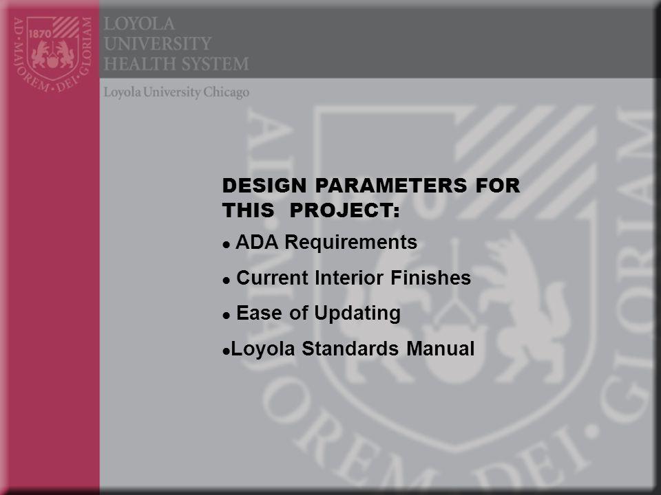 ADA Requirements Permanent Space ID Minimum Contrast Eggshell finish 5/8 Min.