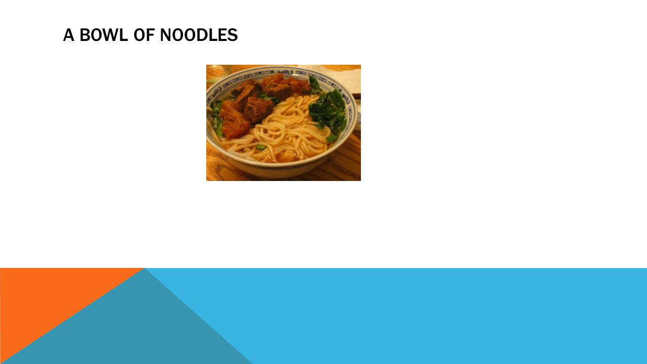 OBJECTIVE: Understand the noodle principle Tourism Industry : To learn its meaning and how it is important The components of the tourism industry Hosp