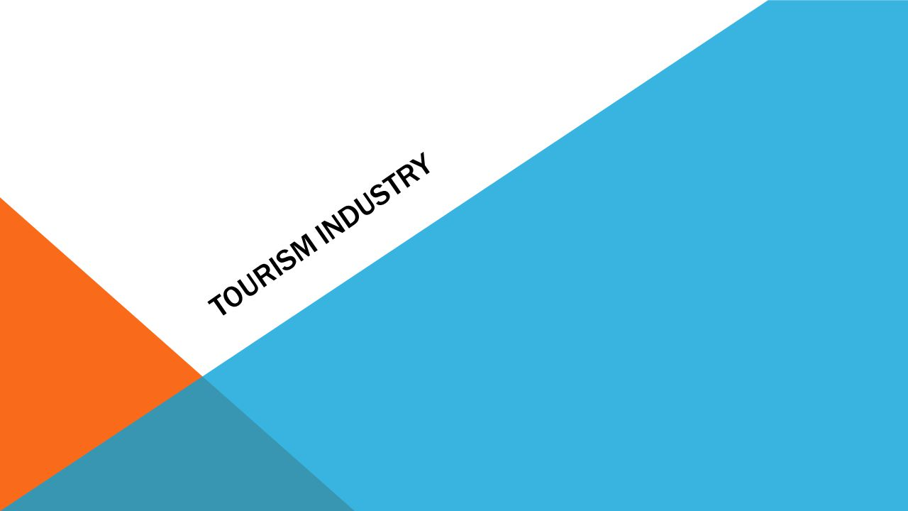 TOURISM, HOSPITALITY AND EVENTS Sectors in the Tourism, Hospitality and Events industry. 7 | Tourism, Hospitality and Events Travel Agencies Accommoda