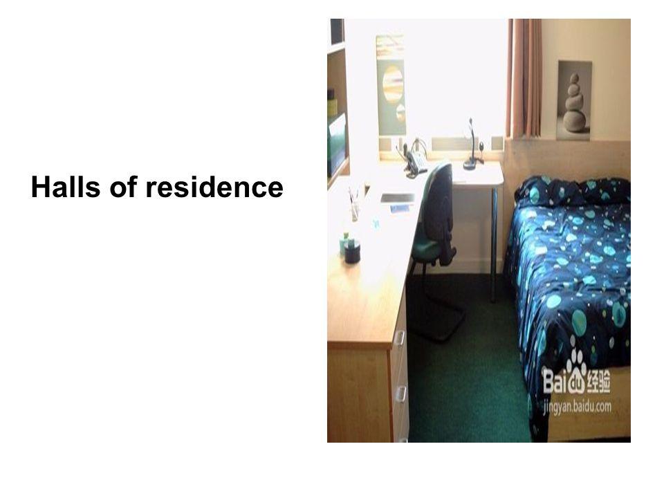 Halls of residence