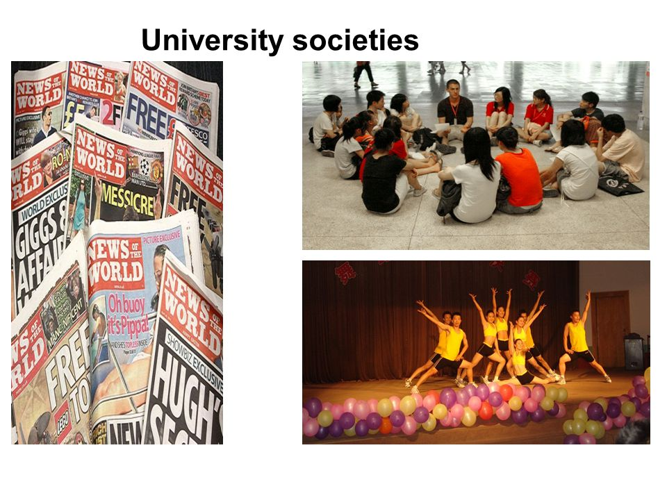 University societies