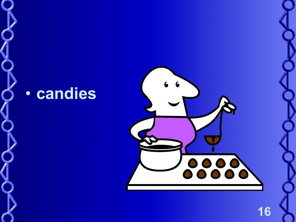 16 candies