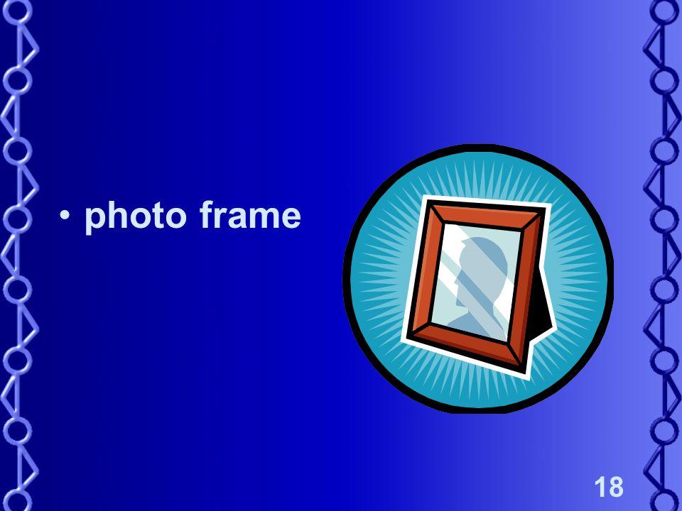 18 photo frame