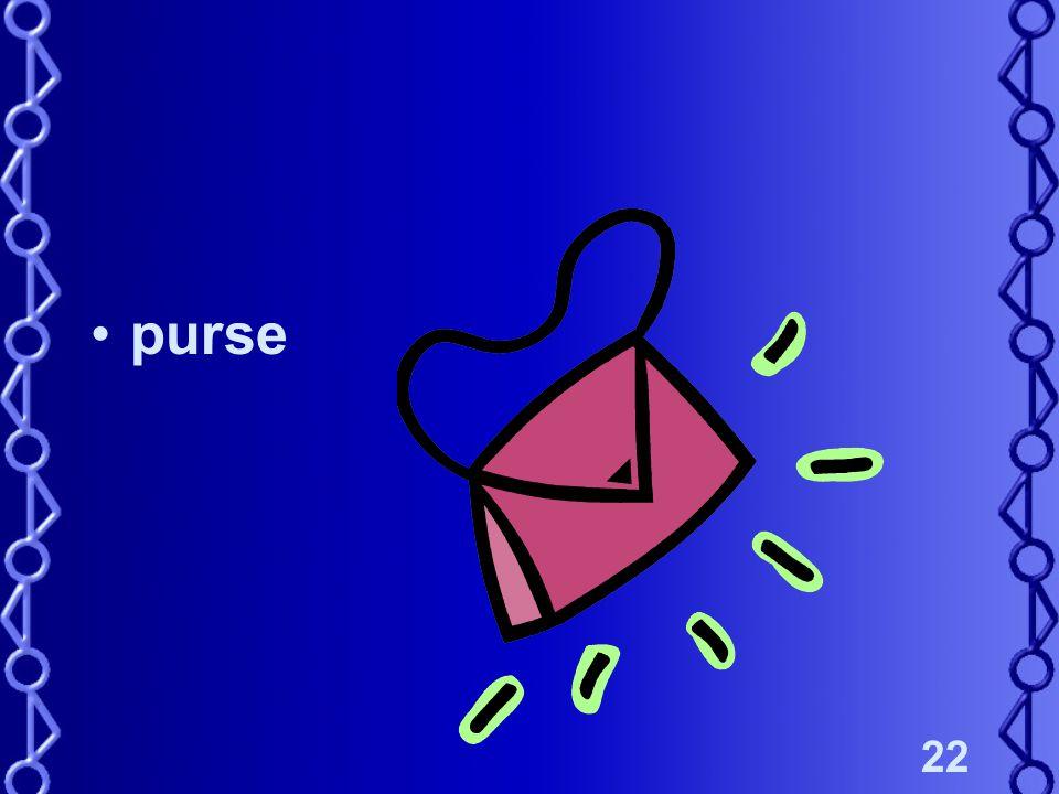 22 purse