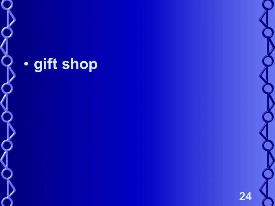 24 gift shop