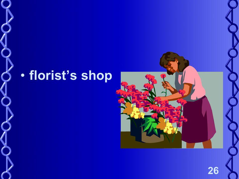 26 florists shop