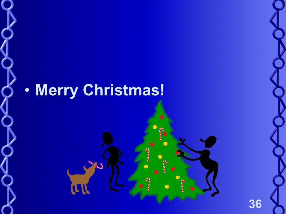 36 Merry Christmas!