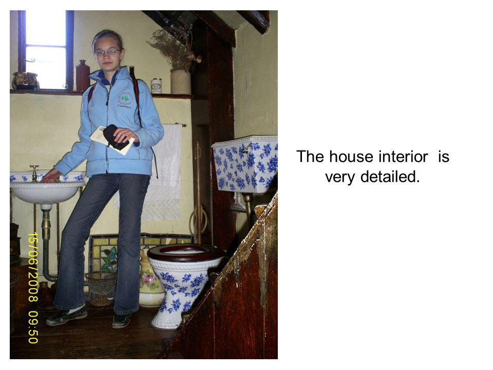 The house interior is very detailed.