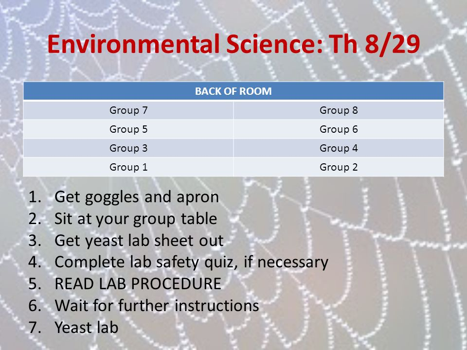 Environmental Science custom writings login