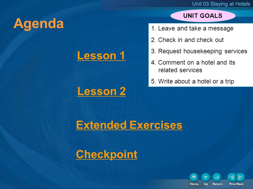 3 3 3 Lead-in Listening Speaking Reading Writing Lesson 1