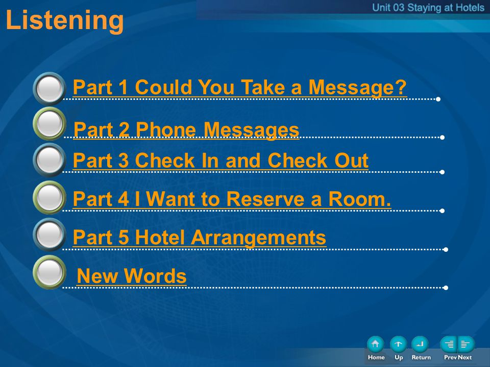 Step 3 In groups, review the factors that are most important to you in a hotel.