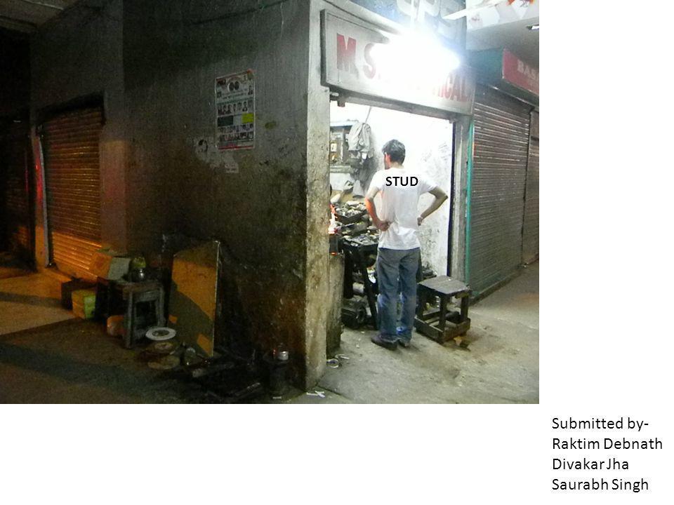 Submitted by- Raktim Debnath Divakar Jha Saurabh Singh STUD