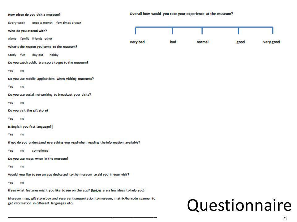 Questionnaire n