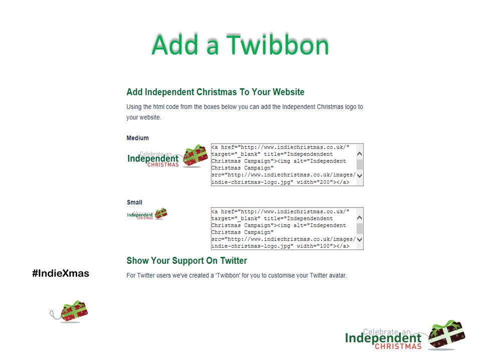 Add a Twibbon