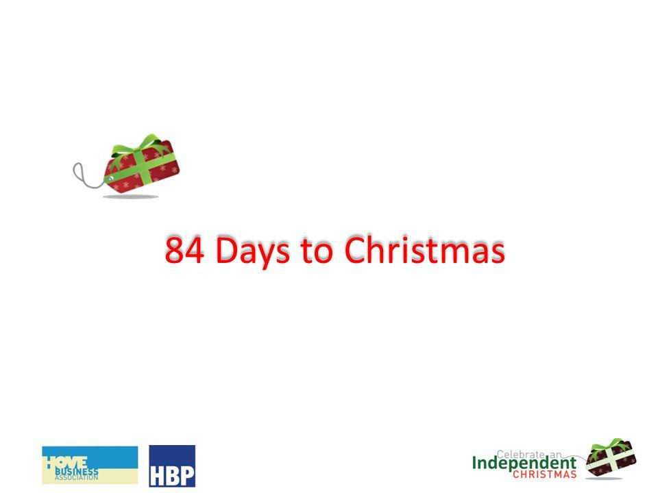 84 Days to Christmas