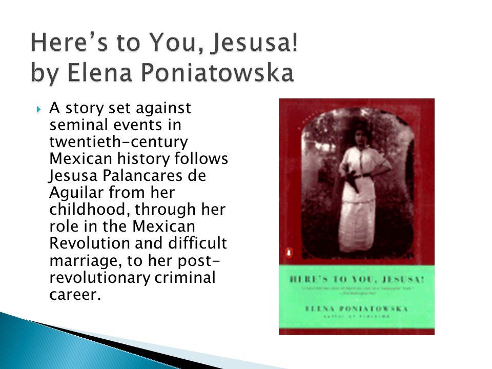 Heres to You, Jesusa.