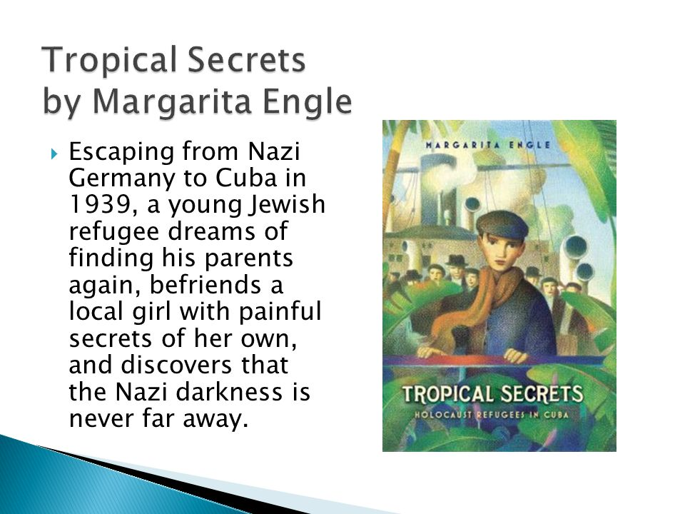 In the early 1960s in the Dominican Republic, Anita learns that her family is involved in the underground movement to end the bloody rule of the dictator, General Trujillo.