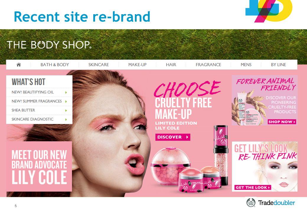 17 Body Shop Widget Body Shop AdCreator