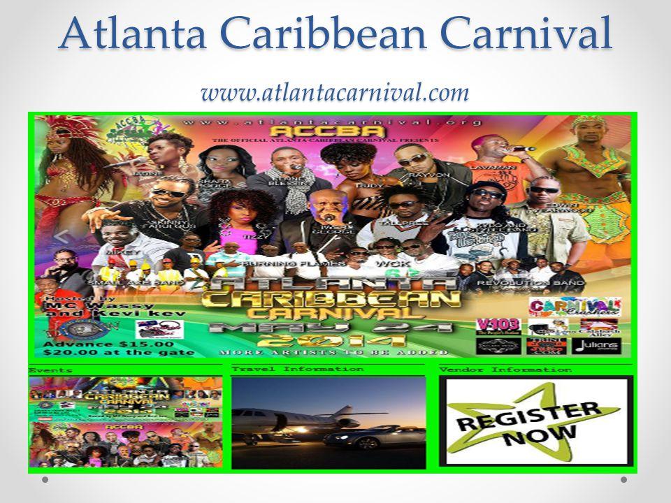 Atlanta Caribbean Carnival www.atlantacarnival.com