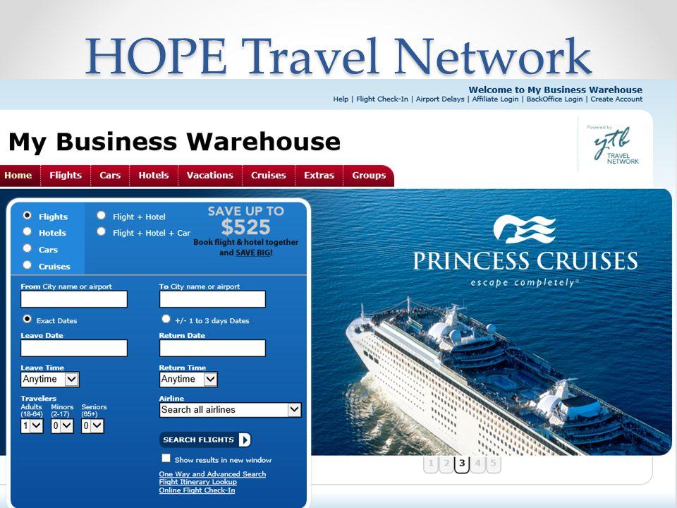 HOPE Travel Network