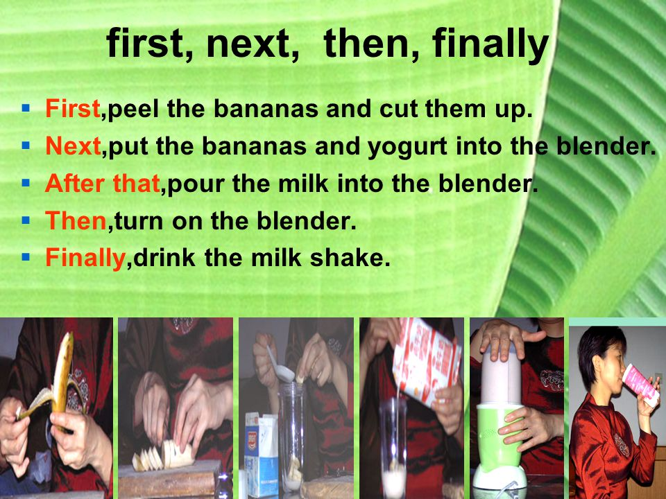 How to make a banana milk shake? · the milk shake. Drink