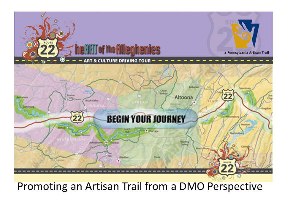 Promoting an Artisan Trail from a DMO Perspective