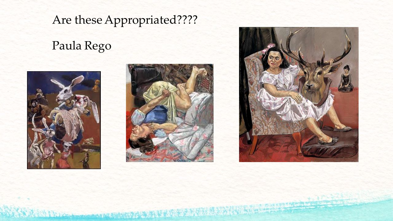 Are these Appropriated Paula Rego