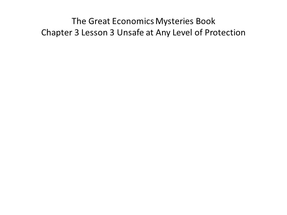The Great Economics Mysteries Book Chapter 5 Lesson 8 Why Are Our National Parks Crumbling.