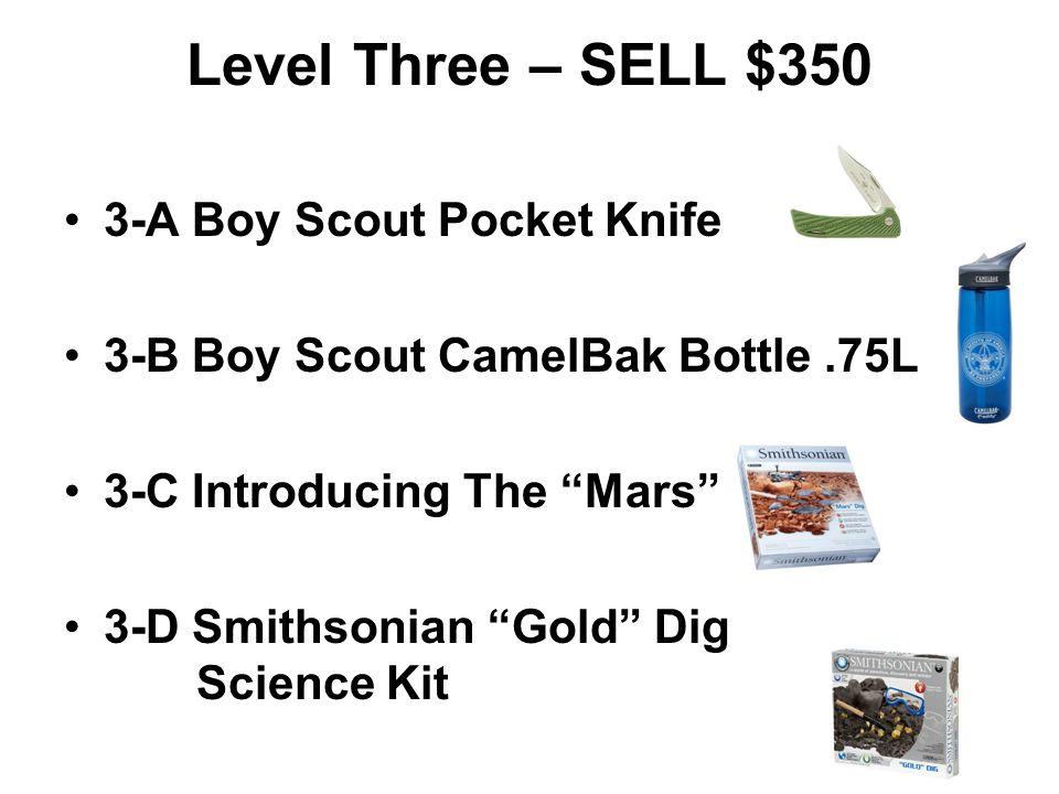 2-A Tri Pod Stool 2-B Electric Motor Science Kit 2-C Smithsonian Slime Lab E-Flask 2-D GSI Seven Piece Cascadian Table Set Level Two – SELL $250