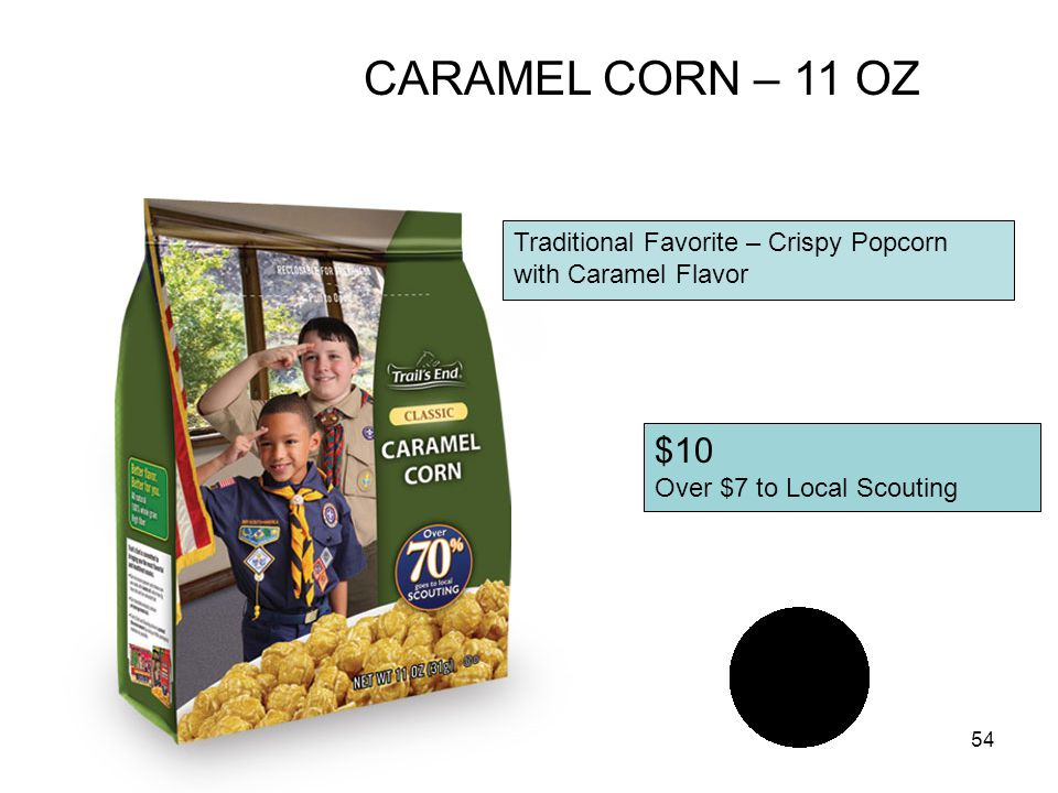 53 $15 Over $11 to Local Scouting CHEDDAR CHEESE CORN - 7 oz Light Crispy Popcorn & Rich Cheddar Cheese