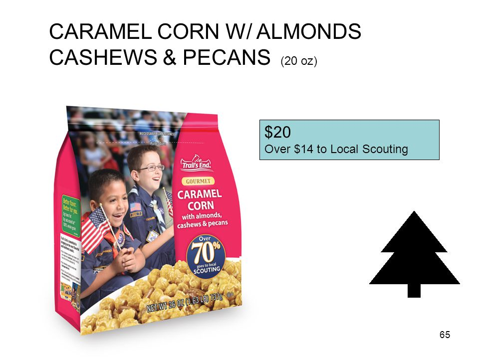64 Kettle Corn Microwave (18 Pack) $25 Over $18 to Local Scouting