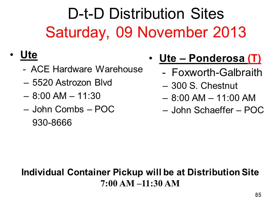 Show & Sell Distribution Site ALL Pikes Peak Council Show & Sell Popcorn will Distributed from ACE Hardware, Astrozon & Powers Blvd: Saturday, 14 September 2013 8:00 AM –10:00 (Last Pick Up Time Slot is 10:00 AM!) Sign up Sheets in the Back of the Room Must submit a S&S Order Form to sign up.