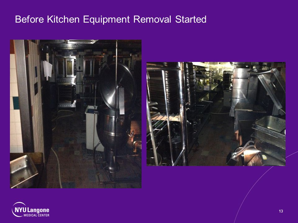 Before Kitchen Equipment Removal Started 13