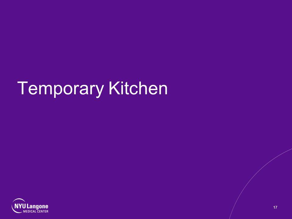Temporary Kitchen 17